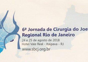 6º Jornada de Cirurgia do Joelho SBCJ Regional Rio de Janeiro