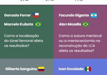 Webinar Internacional sobre controvérsias na reconstrução do LCA